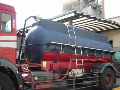 It is a special kind of FRP transportation tank with ladders.